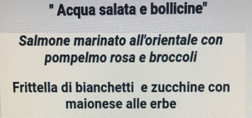 Bianchetti, Chef ,Delfini&Tonni